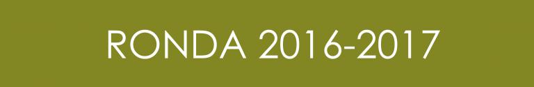 Ronda 2016 - 2017