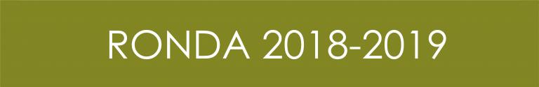 Ronda 2018 - 2019